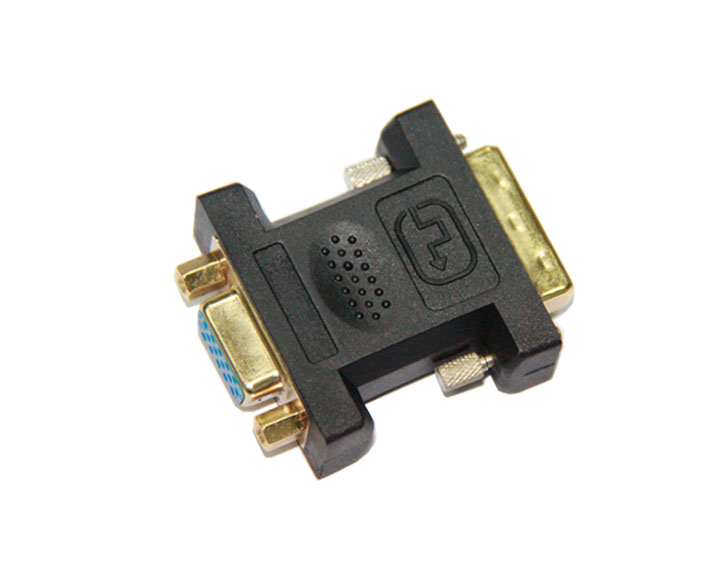 DVI24+5 Male to VGA Female Adapter