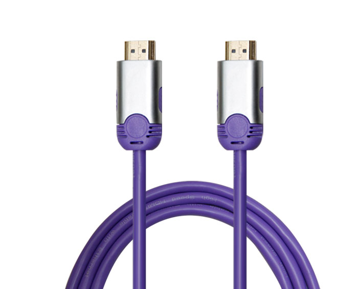 High Speed HDMI Cable with Dual Color Metal Shell
