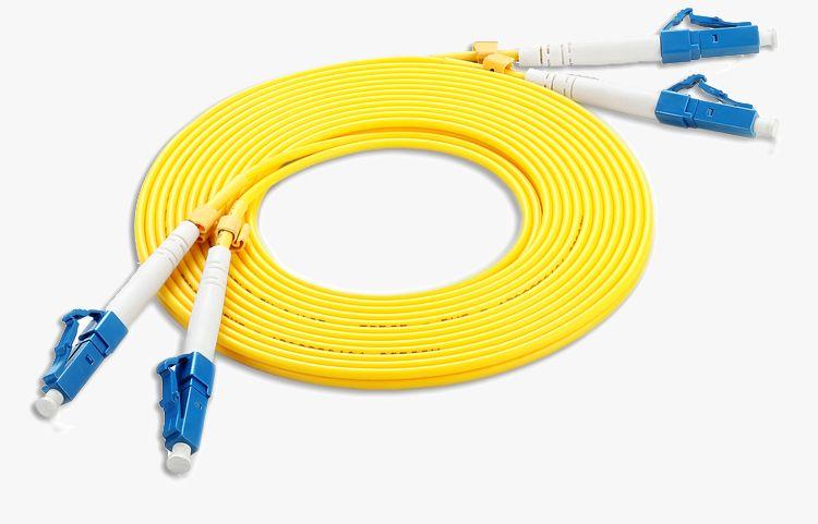 LC-LC Duplex SM Fiber Optic Patch Cord