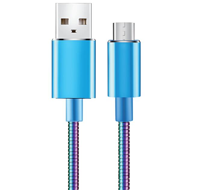 Super Strong Stainless Steel Micro USB Cable