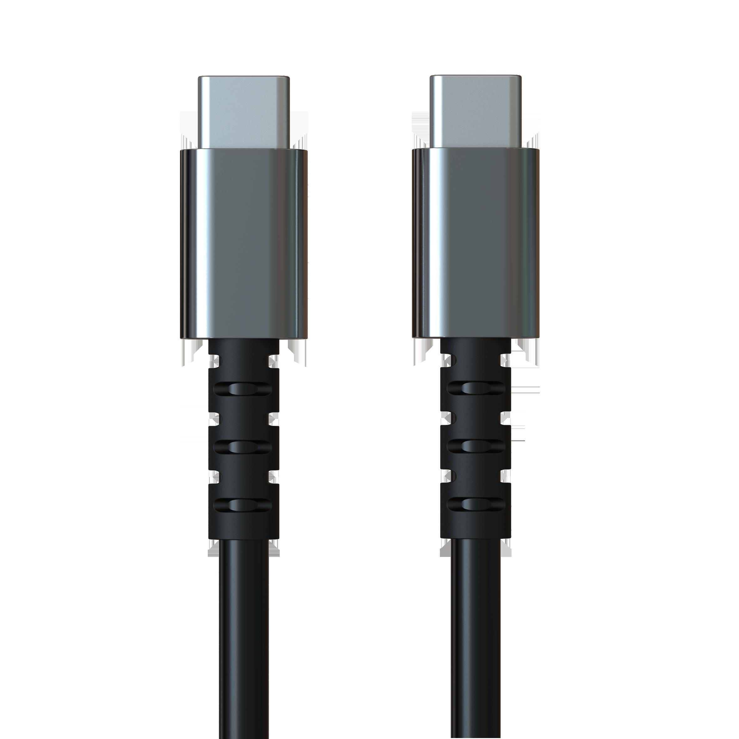 Aluminum USB C 2.0 to USB C Cable 3A