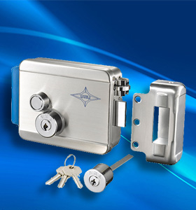安星AX091一字匙不锈钢锁