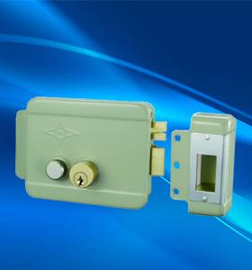 AX007喷漆双头电控锁