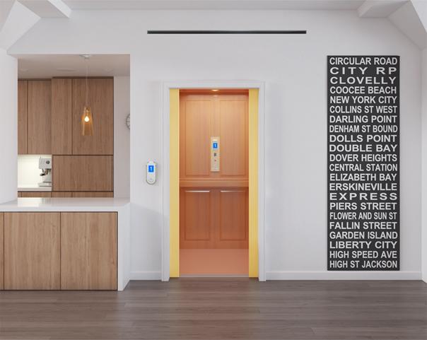 福朗型别墅电梯