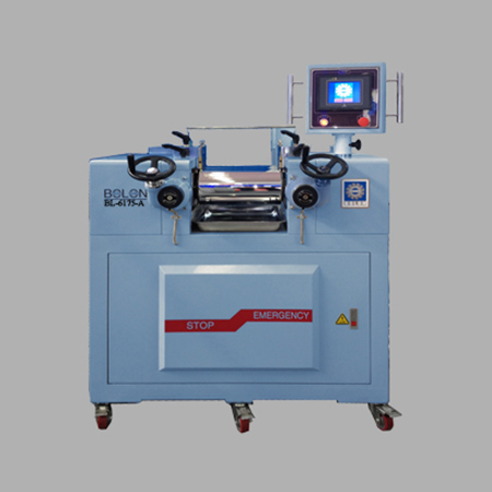 LABORATORY ROLL MILL(electric heating/PLC programming Controller type)