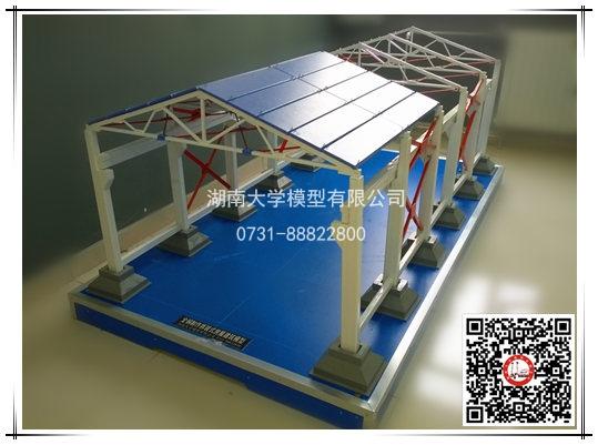 全钢制作拆装式厂房建筑模型