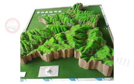 地形地质模型