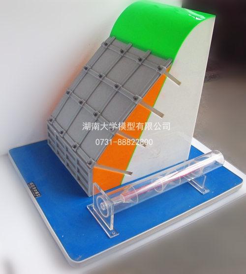 锚固滑体模型