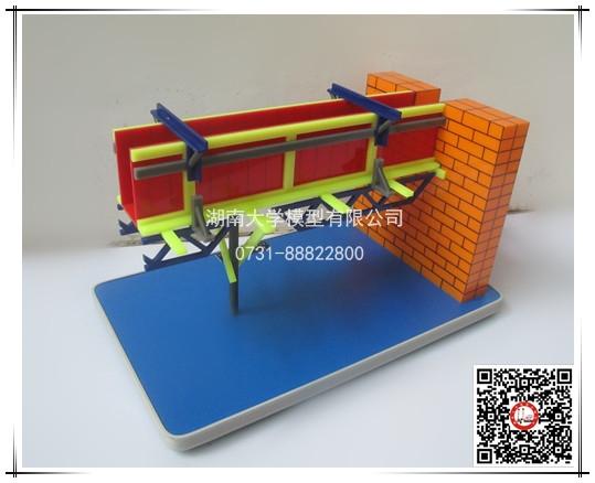 建筑施工技术类-大梁支模方法