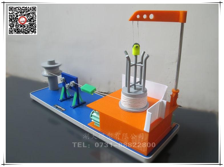 建筑施工技术类-立式单鼓简冷拔机教学模型