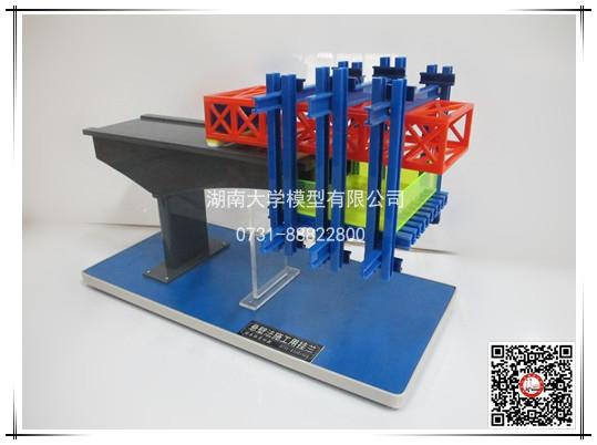 建筑施工技术类-悬臂法施工用挂篮