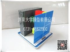 隐框式玻璃幕墙节点(单层玻璃)