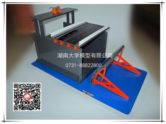 弧形闸门及闸室结构