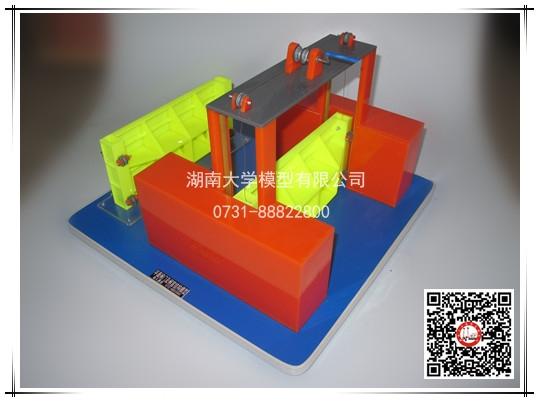 平面闸门及闸室结构