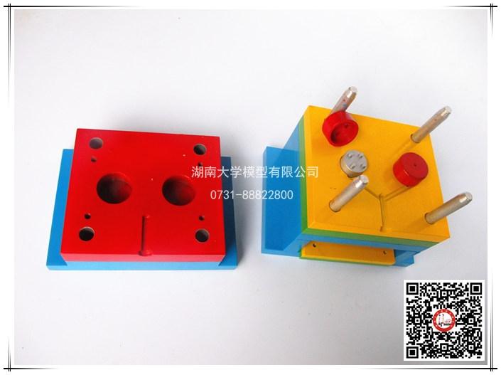 塑料模具教学模型-按键注射模-106116