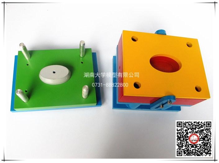 塑料模具教学模型-塑料刷注塑模(直接浇口)-106124