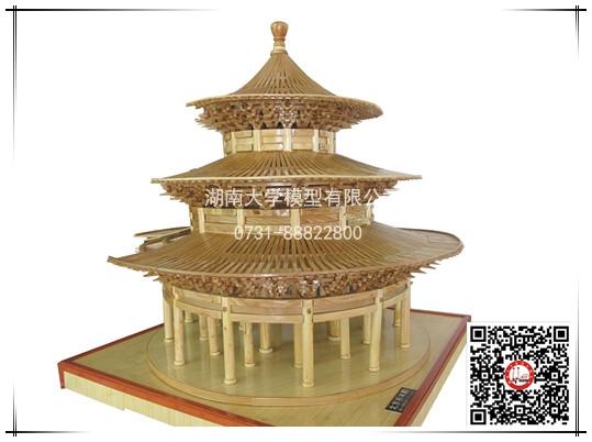 北京祈年殿模型