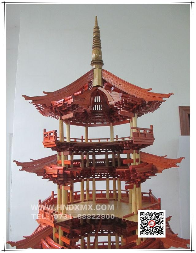 山西应县木塔模型
