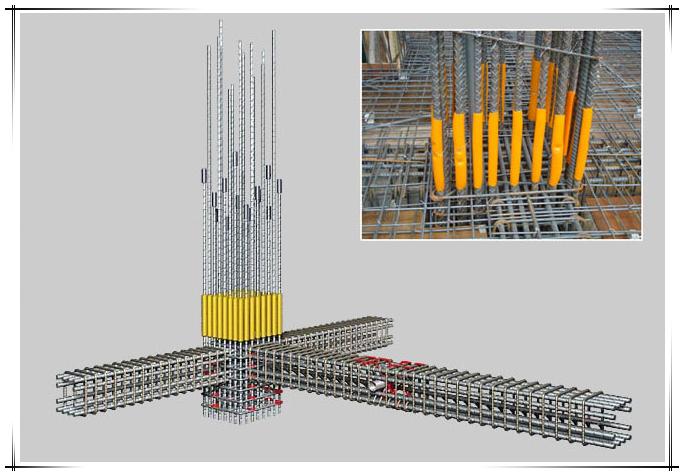 建筑结构配筋模型