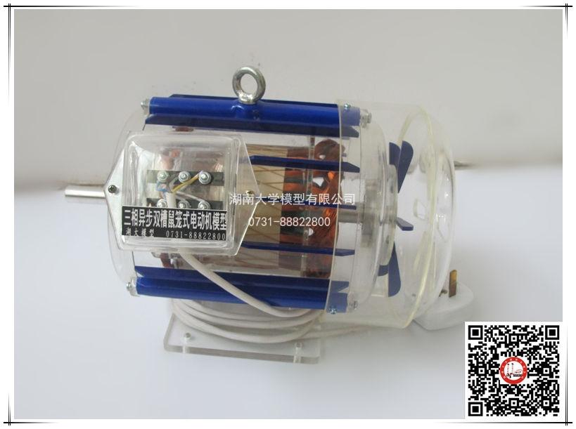 电动机模型-三相异步双槽鼠笼式电动机模型