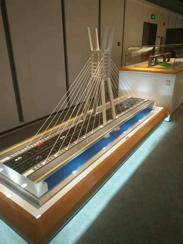 斜拉桥模型