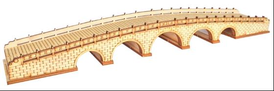 桥梁组装模型