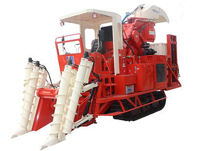 4 gz series cut sections of sugarcane combine harvester
