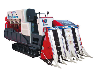 4 LBZ - 180 half feed combine harvester