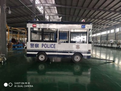 5.5m、6m拖挂式移动警务室