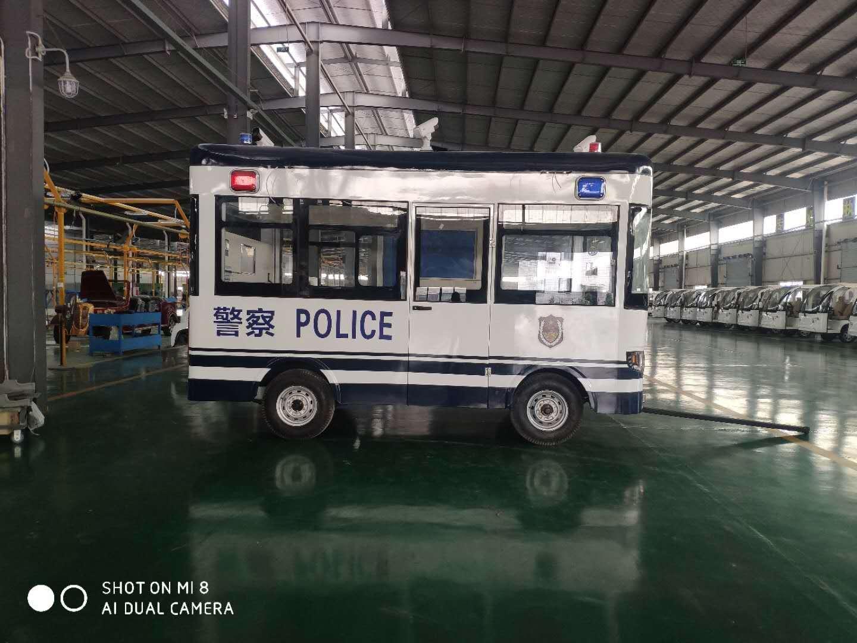 拖挂式流动警务室