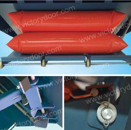 电动气袋式调节板