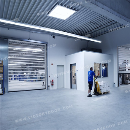EFA-STT® full perspective high speed spiral roll door