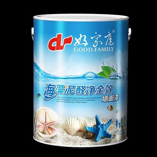 好家庭海藻泥净醛全效墙面漆