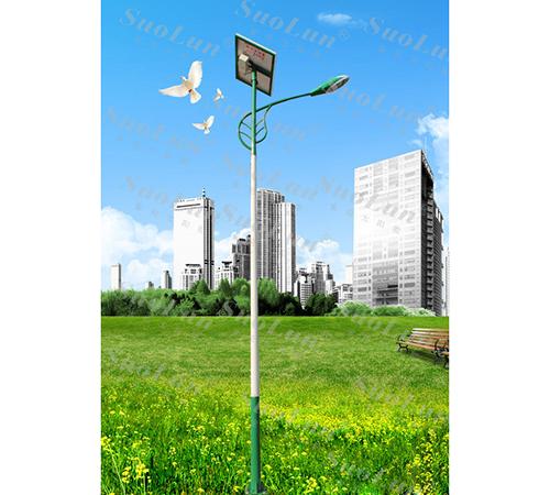 Lithium solar street light