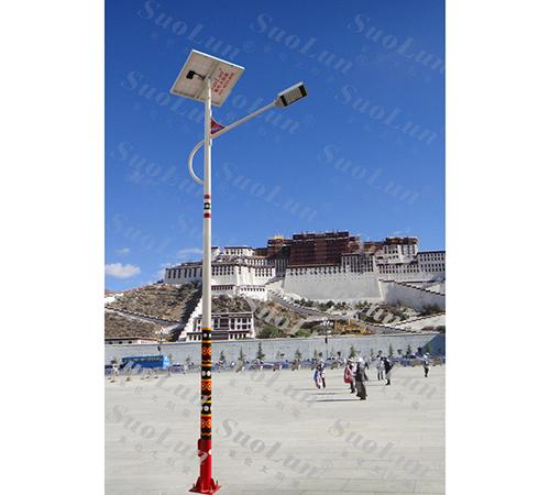 太阳能路灯-民族特色太阳能路灯