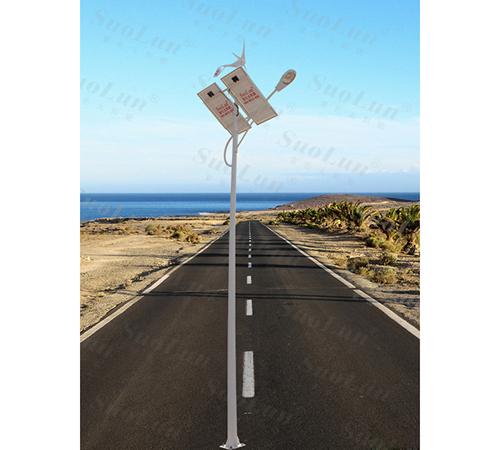 Scenery complementary solar street light
