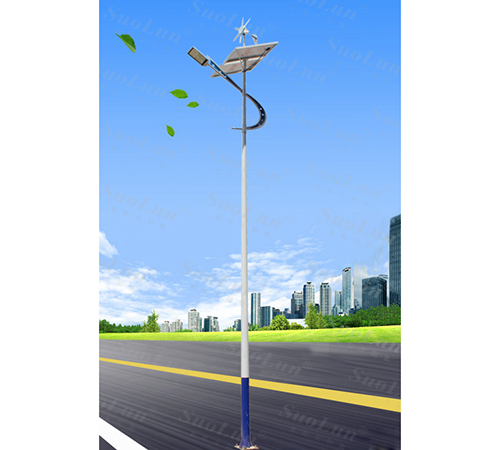 Scenery complementary solar street light