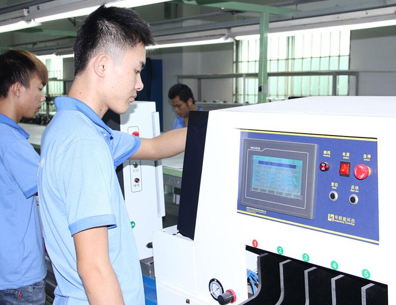 車間生產-鋰電芯分選