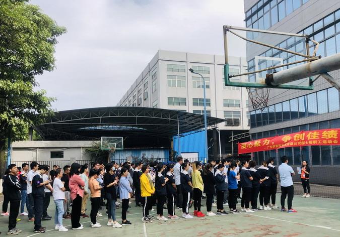 公司第七届职工运动会圆满落幕