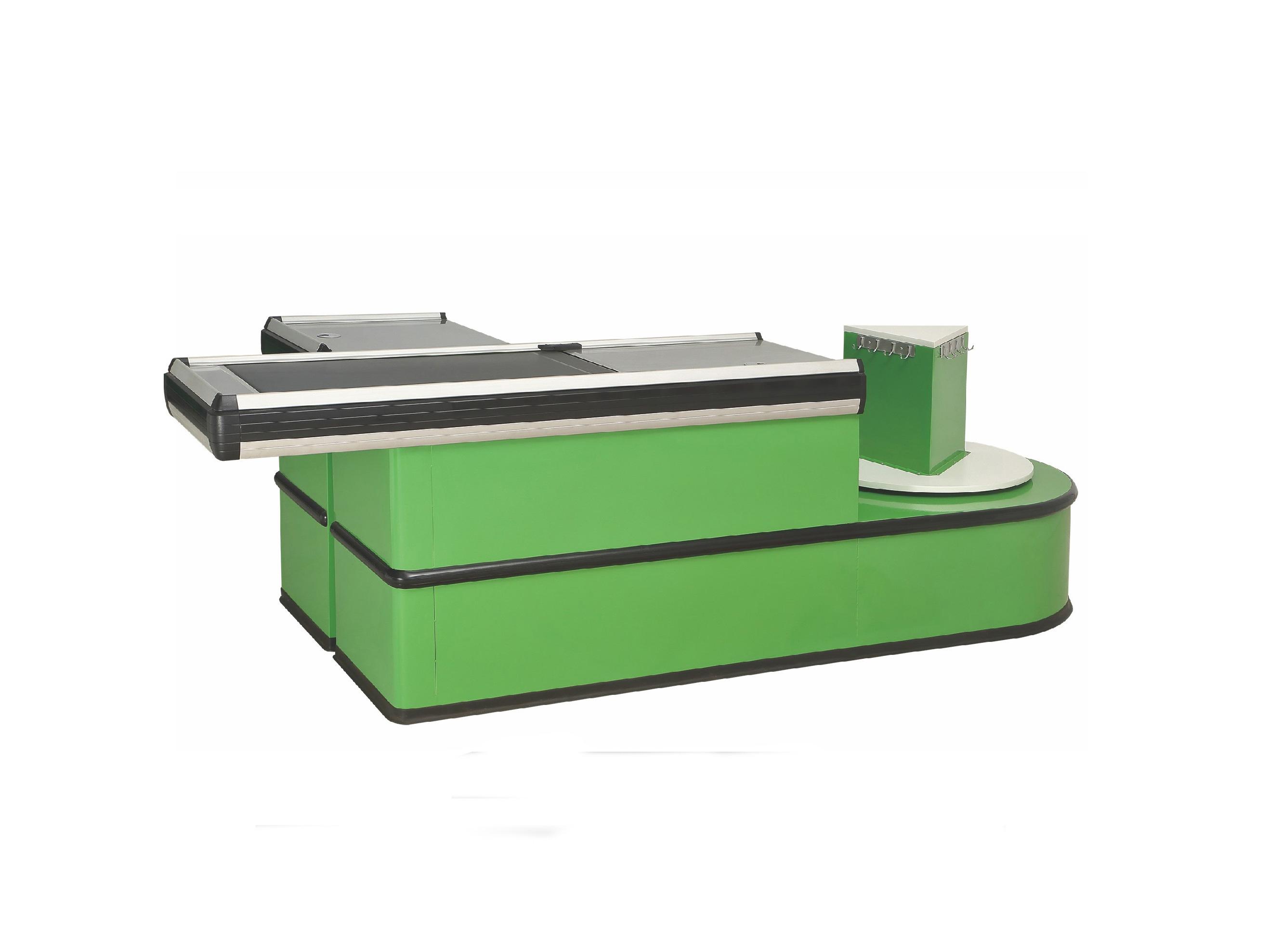 不鏽鋼台麵實用收銀台
