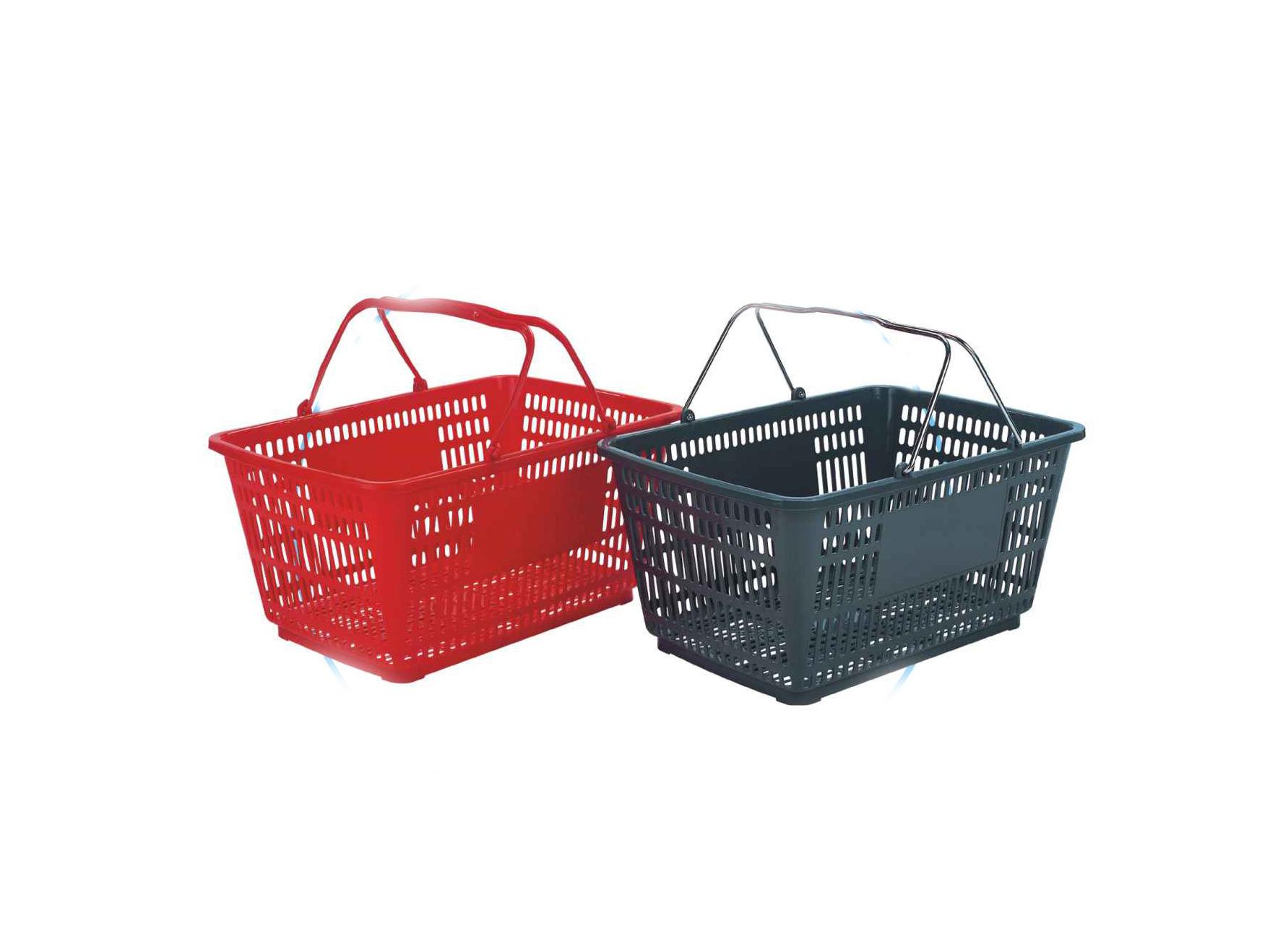 pw604A 塑料购物篮