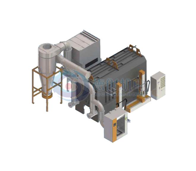 轮毂PVC三明治大旋风加滤芯回收系统(底粉多色)
