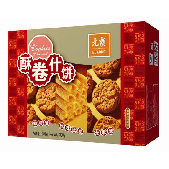 元朗酥卷什饼300克
