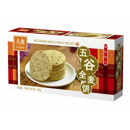 元朗五谷全麦饼160克