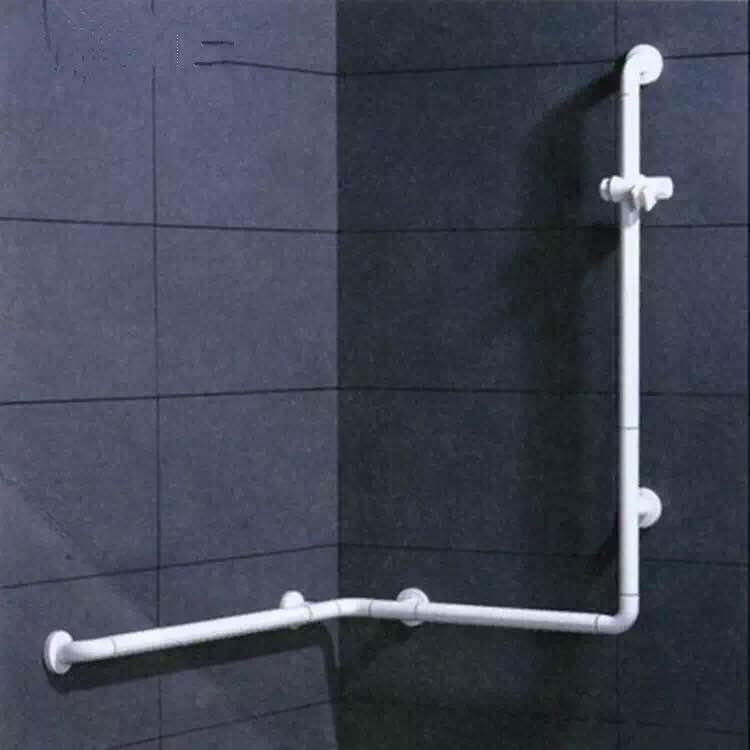 淋浴房多功能扶手LE-W03白色/黃色-勞恩塑料制品