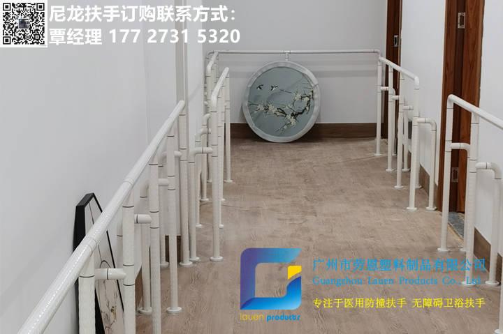 2021.6荔灣區彩虹街通道尼龍立柱扶手立柱項目安裝 (3)