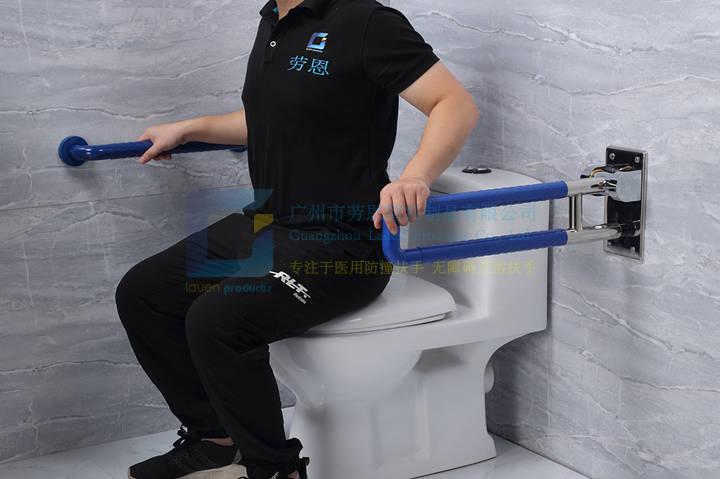 安全衛浴設備-衛生家老人助力扶手,折疊沐浴凳 (4)