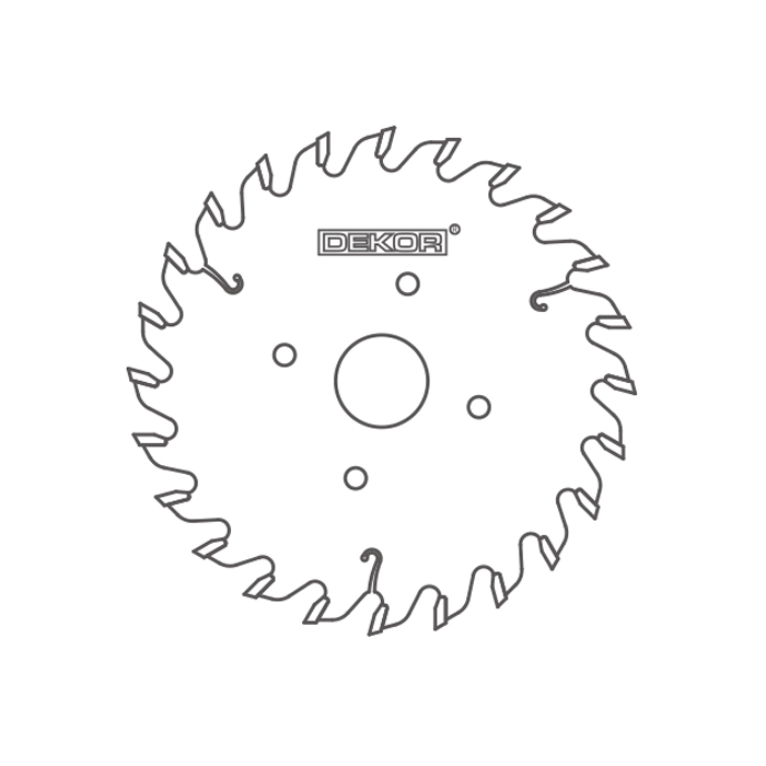 Edge-banding saw blade