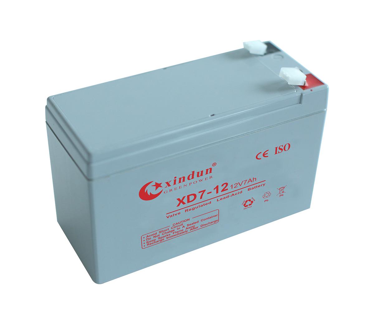 XD7-12 Battery (12V7AH)