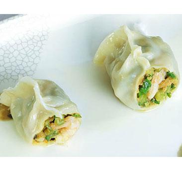 鲜虾鱼皮饺